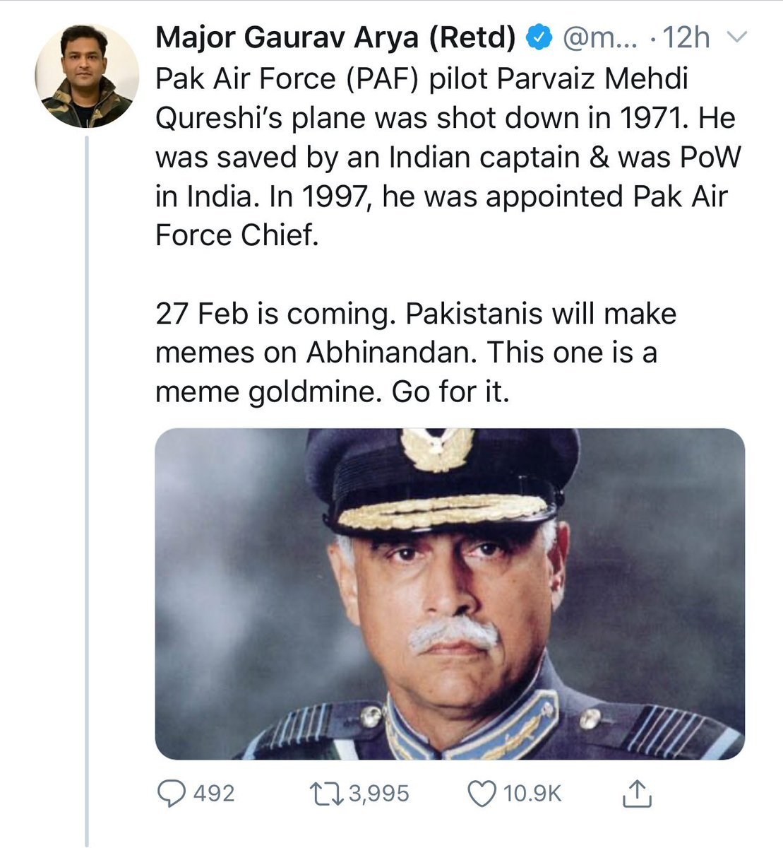 Joy On Twitter The Difference Between Major Embarassment Gaurav Arya Retd And Lt General Hs Panag Retd