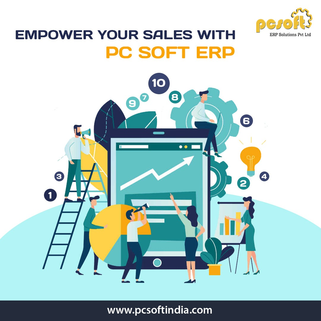Achieve your targets effectively and empower your sales with PCsoft's efficient ERP Solutions  http://www.pcsoftindia.com/  #ERPSoftware #targets #empower #sales #ERPSystem #ERP #business #data #profit #perfection #BusinessSolution #PCSoftpic.twitter.com/dNrkc80vDB