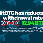 Image for the Tweet beginning: 😬😬Hey, BitCore community. @hitbtc 👍🏻