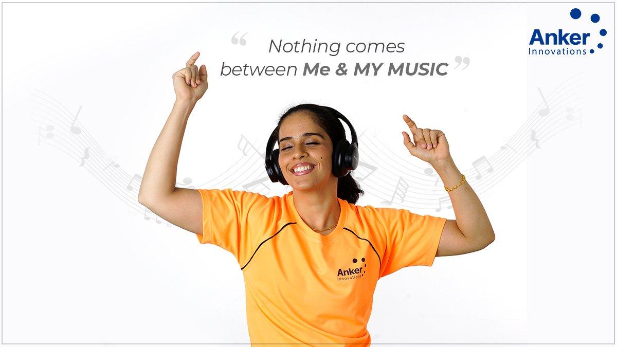 'SHARE' if #MusicisLIFE for you! #TuesdayTunes @NSaina  #AnkerIndia #SoundcoreIndia #AnkerInnovations #MusicalTuesday #SainaNehwal pic.twitter.com/y4CSuab6qb