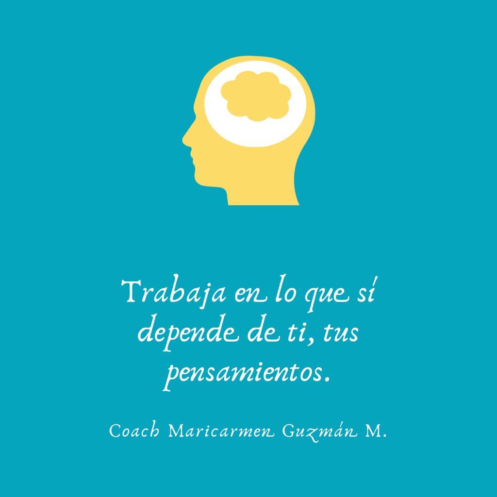 Trabaja en lo que sí depende de ti, tus pensamientos.   #FelizMartes #BuenosDiasATodos #Frase #pensamiento #proposeday #propósito #vida #desarrollopersonal #coaching #mibrújulainteriorpic.twitter.com/WoIDddSt2t