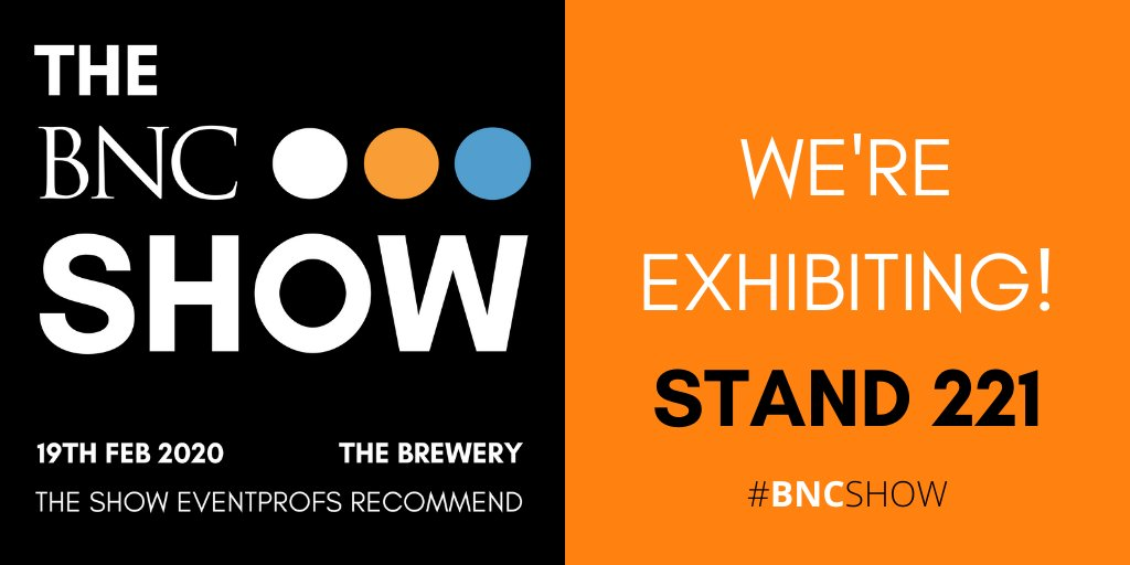 Visiting #TheBNCShow tomorrow? Meet the team on stand 221 for more information about our #conference and #exhibition spaces...#BNCShow #networking #eventprofs