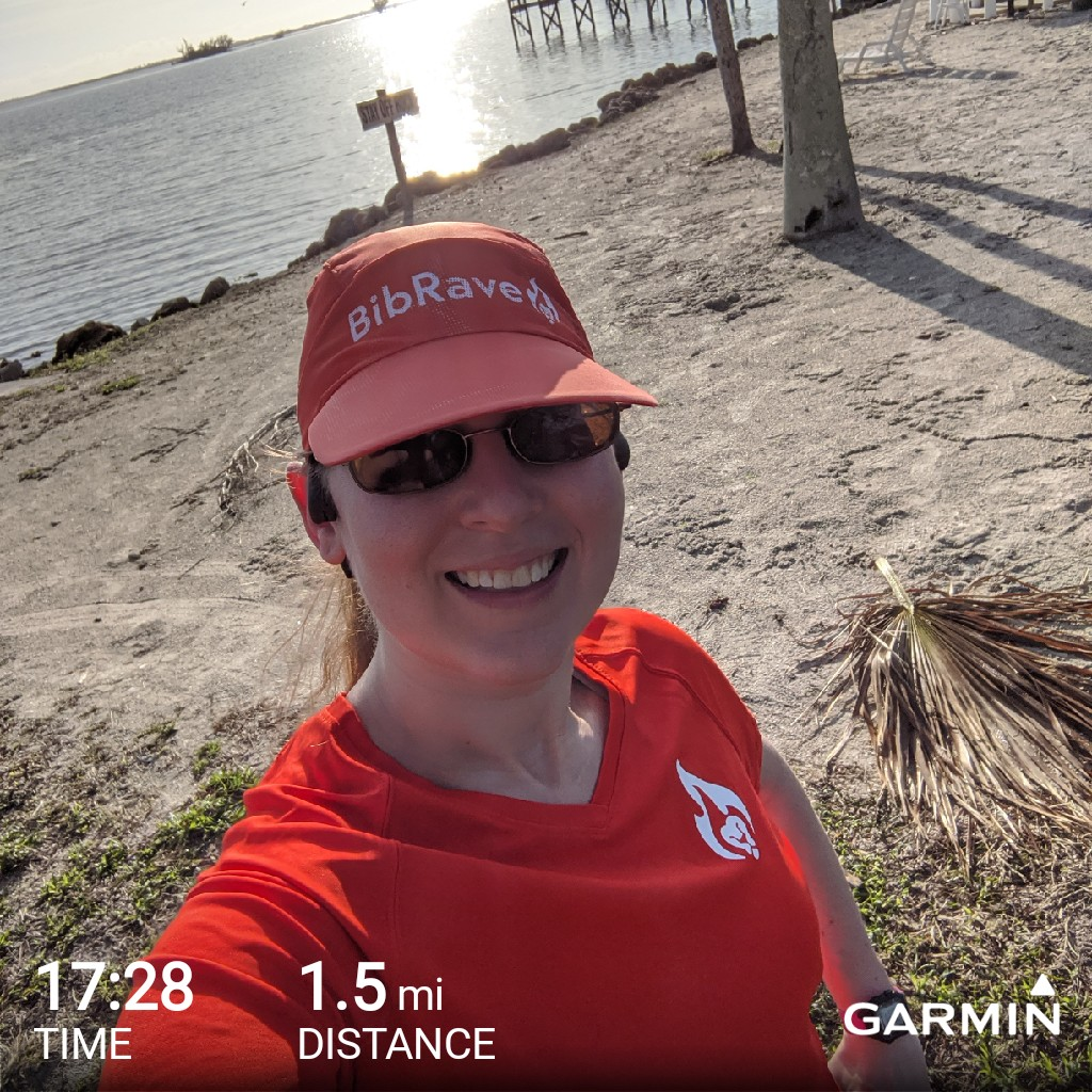 I'm not in Minnesota anymore! Got out for a run after Oliver nursed this morning (and had some banana too). Felt great to wear shorts and run in 70 degrees and sunshine! #BibChat #BibRavePro <br>http://pic.twitter.com/yE9Z4swgpy