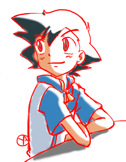#ポケモン #pokemon #サトシ #Ash #カスミ #sketch #drawing