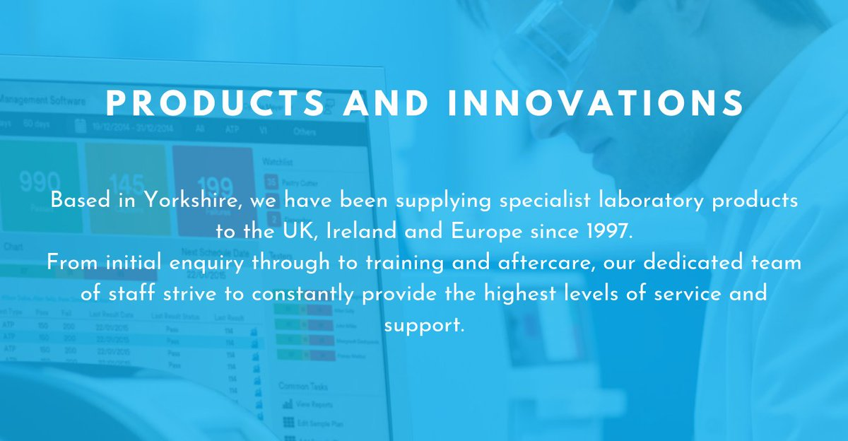 Let us tell you another reason why you should choose Gem Scientific as your scientific supply company. Our forth reason is our products and innovations  For more information about us here at Gem, visit: https://buff.ly/2uhMJIy #FridayThoughts