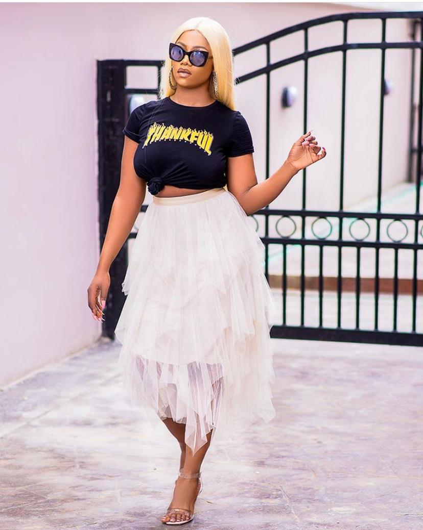 """#TachaQueenOfContent.. Remember when Tacha used to say """"you want me to be your Highlight"""" then bam Madam became kqwin of Highlights... #TachaQueenOfContent.. She has always been a role model to that Madam<br>http://pic.twitter.com/NF9n6fogjl"""