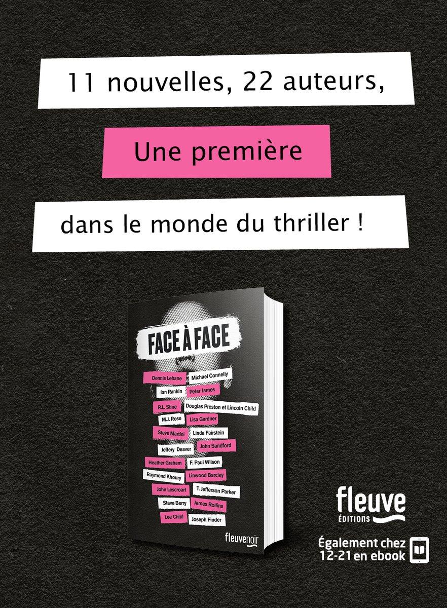"""""""Le désir ultime de chaque lecteur de thriller"""" - @ALA_Booklist  Imaginez un livre dans lequel vos héros de thriller soient réunis...https://bit.ly/2P1IsnF  #FaceÀFace existe aussi en #ebook chez @1221Editionspic.twitter.com/K7uAoO1HyL"""
