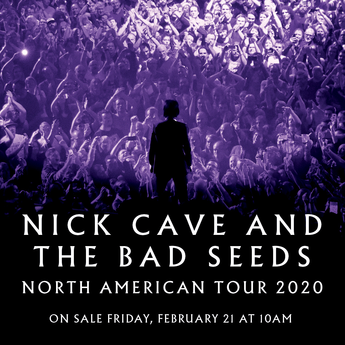 .@nickcave & The Bad Seeds coming to the @ErwinCenter on October 6. Tickets on sale Friday at 10AM.