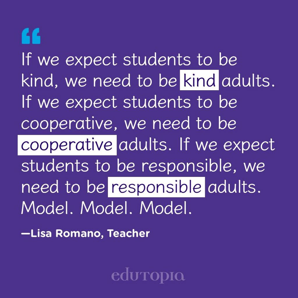 If we want students to handle and correct their mistakes, we must model that as well.