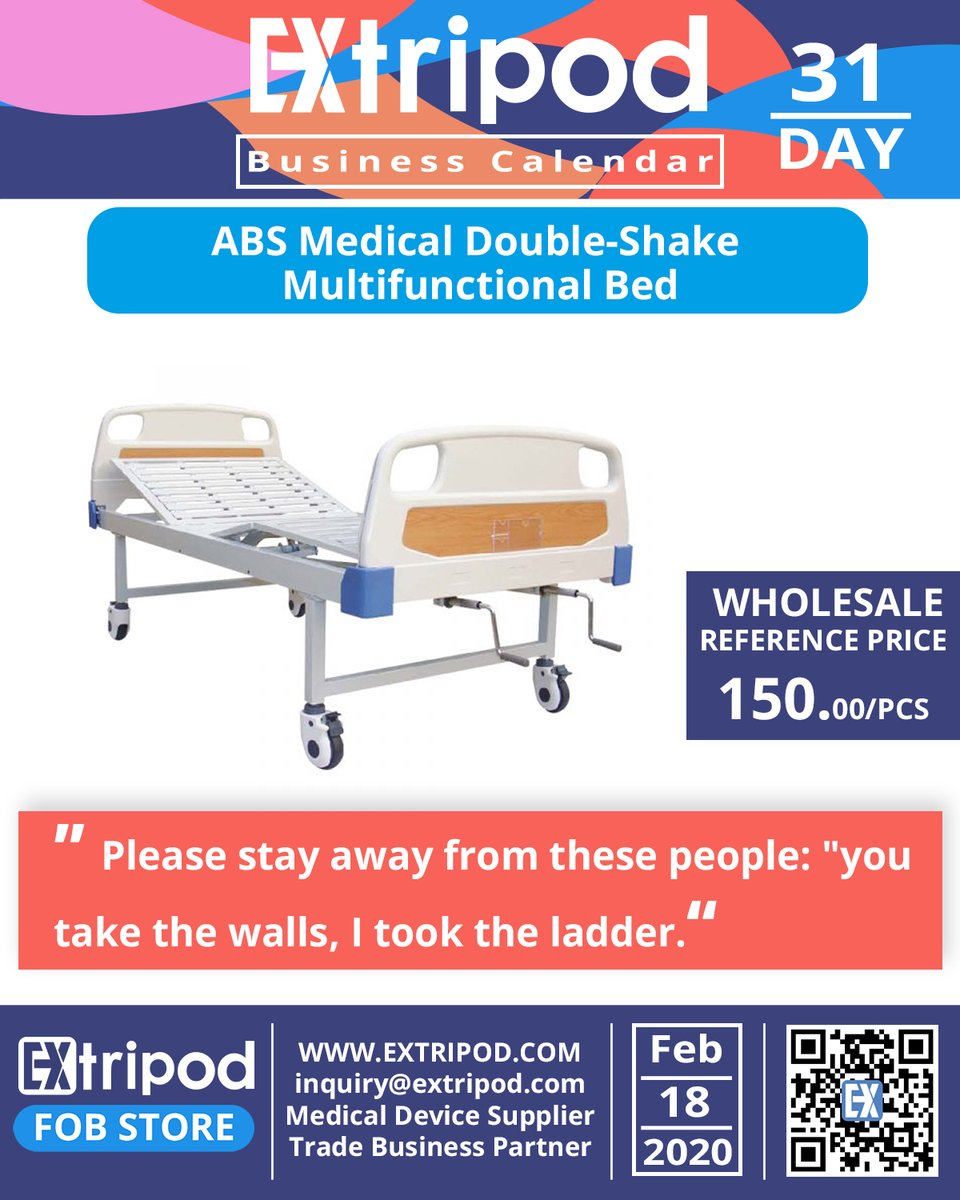 #meical #bed #medicalbed #ABS #medical #health #sale #b2b #business #marketing #fob #sales #fobfactory #ceo #surgery #surgical #trader #factory #businessquotes #importchain #fobfactory #entrepreneur #entrepreneurship #businesswoman #import #businessowner #businessman