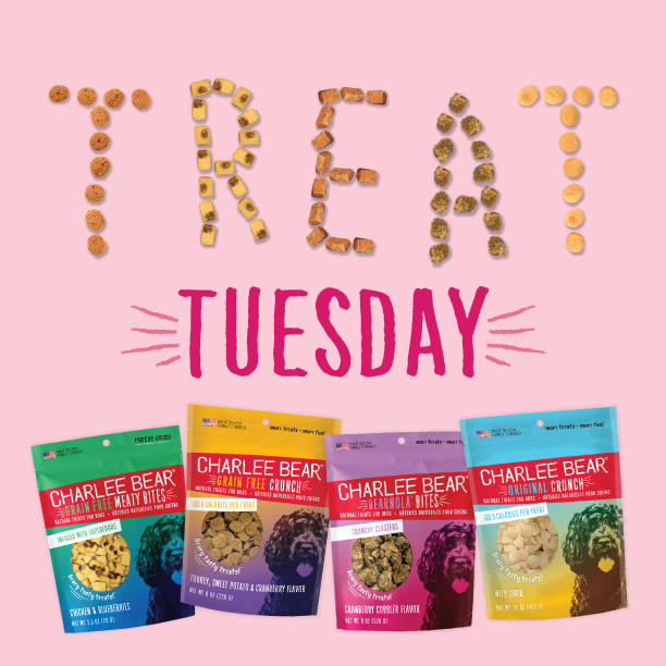 Win a bag of Charlee Bear Treats!  Where is the strangest place you've found your dog hiding? RT and tag 2 friends! #wintreats #contest #windogtreatspic.twitter.com/VbbSCC7N5w