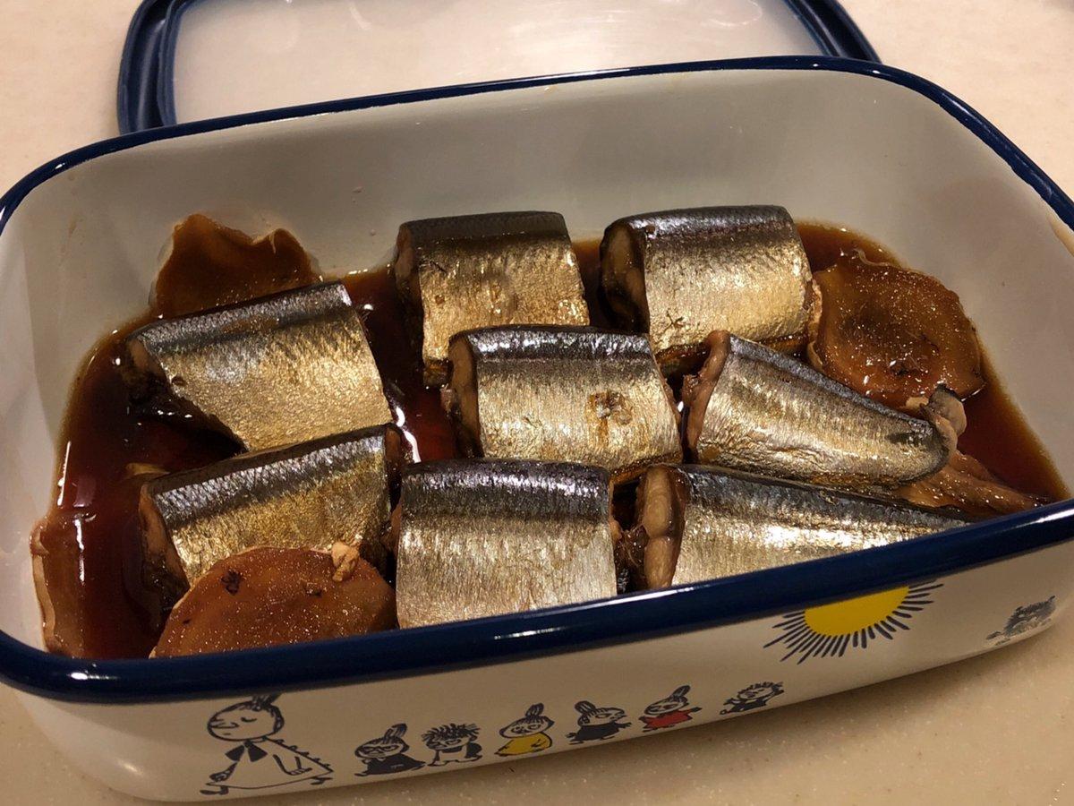 さんまの甘露煮圧力鍋で骨までやわらかいい照り出ました#常備菜
