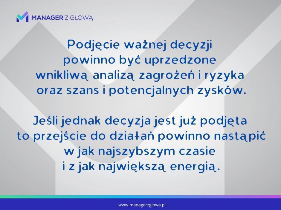 Tutaj mało miejsca, więc po komentarz zapraszam na Fb lub Instagram #decyzja #decyzje #ryzyko #szansa #zagrożenie #działanie #energia #biznes #firma #manager #zarządzanie #korpo #rozwójosobisty #coaching #mentoring #cel #cele #marketing #socialmedia #sprzedaż  #jedziemypic.twitter.com/Rru0XYzNLH