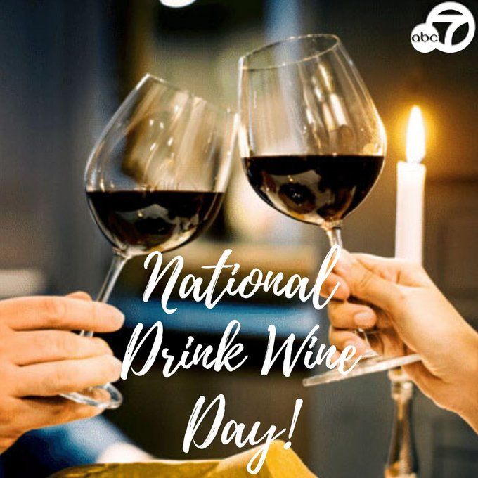 Cheers to health benefits of vino on National Drink Wine Day