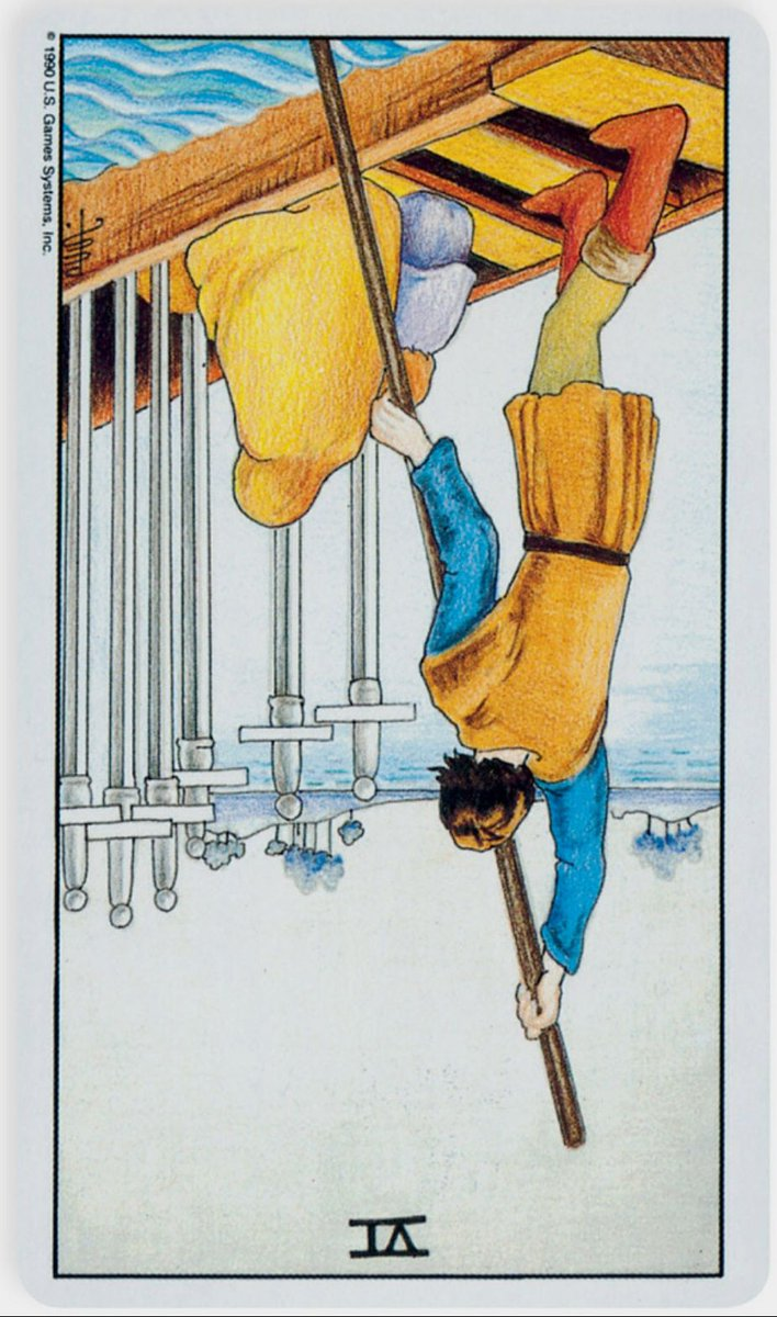 Six of Swords in Reverse ✨🔮This is an intensely personal and private journey, & you're working in isolation to make it happen. You've identified what u must release to embrace a new way of thinking & are now bringing it to fruition in your life. You're becoming the new you.