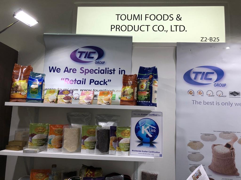 #KLBD certification is at @Gulfood for a second day.... featuring some of our #Kosher certified clients....  Toumi Foods and Product Co., Ltd.   stand Z2-B25 Green Village Agros (P) Ltd               stand Z2-E87  #Gulfood2020 #Kosher #exhibition  #Dubai