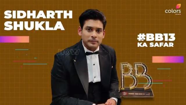 #BiggBoss13 ke proud winner @sidharth_shukla ke jeetne ki khushi ko unhone kuch iss tarah bayaan kiya! @vivo_india @beingsalmankhan #BiggBoss #BB13 #SalmanKhan