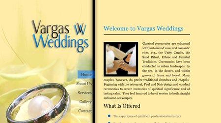 Vargas Weddings shared a #wedding video on #WedFolio.