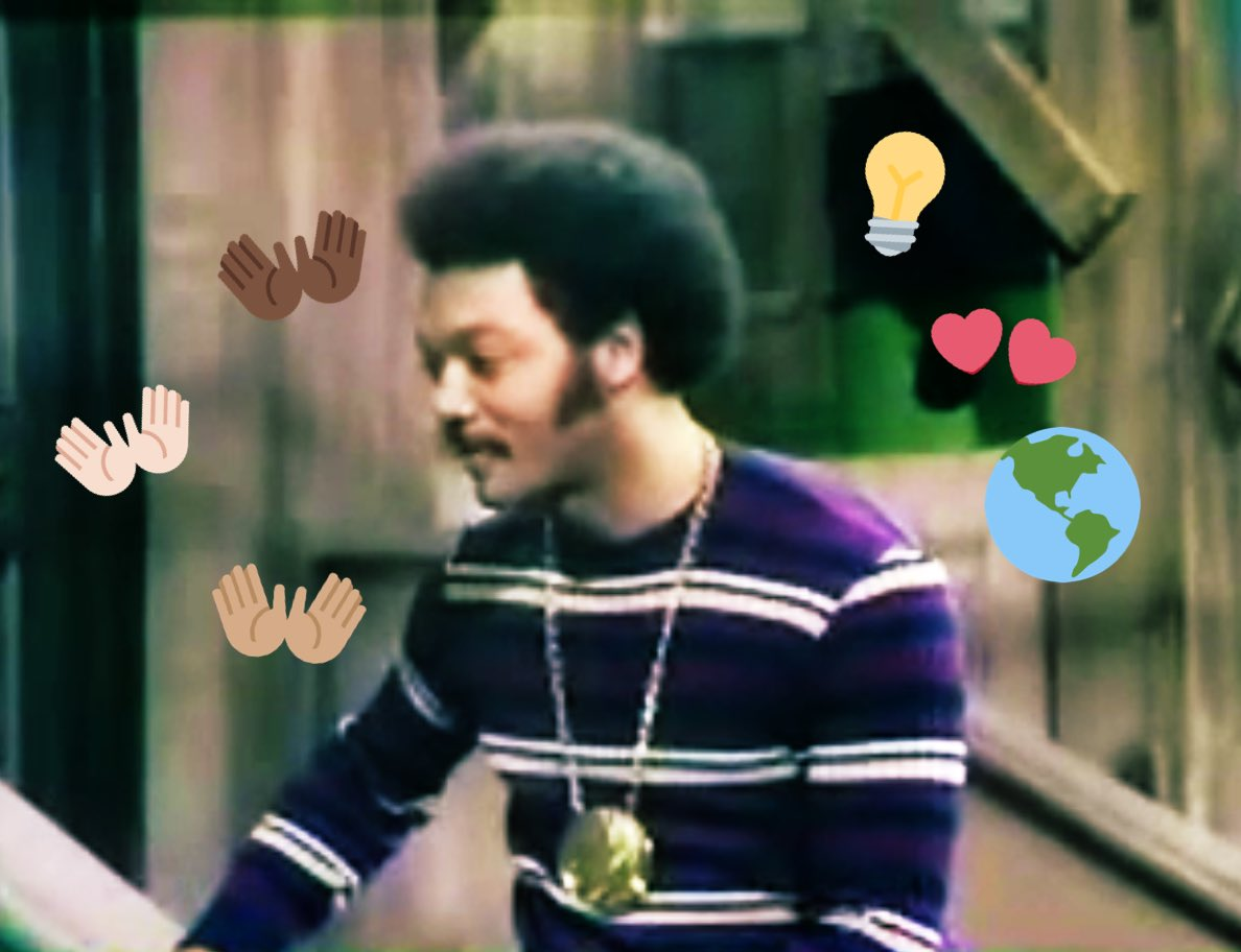 As I prepare to speak to a classroom of 4th graders at my daughter's school, on this 3rd Tuesday of #BlackHistoryMonth2020, I'm reminded of when #JessieJackson showed up on Sesame Street to lead kids from various world cultures in saying #IamSOMEBODYhttps://youtu.be/iTB1h18bHlY pic.twitter.com/mOrYNStJPk