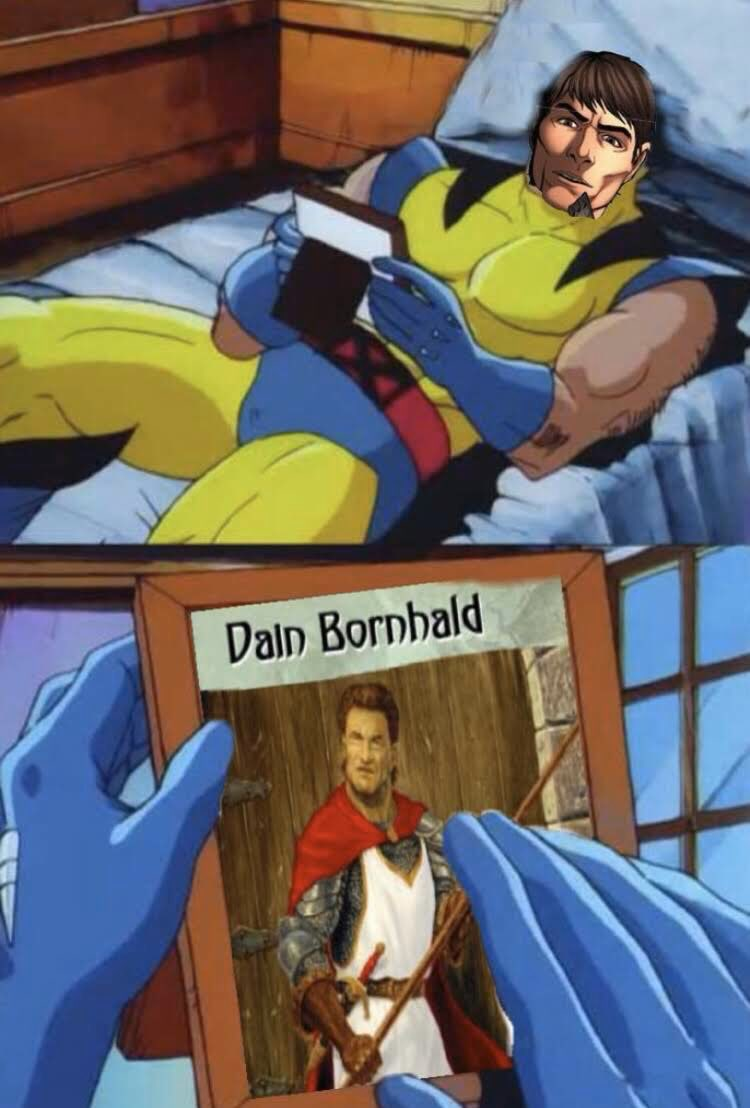 OOC: Byar on those lonely nights away from his Dainish. An oldie but goodie... #TwitterOfTime #MemesOfTime #WheelOfTime  https:// twitter.com/TigraineMantea r/status/1229593364372258816  … <br>http://pic.twitter.com/HK4T6GXPDW