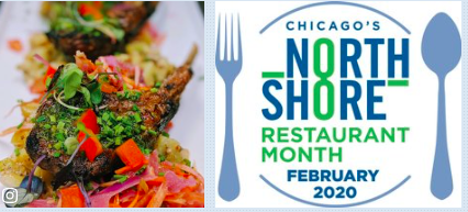 Prix-Fixe dining menu's from North Shore's yummiest restaurants. From Evanston to Wheeling, Glenview to Glencoe, Skokie, Northbrook, download this certificate & GO EAT — Ends Feb 29th. Details:    #wheelingIL #SkokieIL #NorthbrookIL #NSRM20