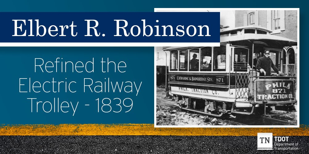 In honor of Black History Month we are celebrating black inventors in transportation. #ElectricRailwayTrolley #BlackHistoryMonth #BlackHistoryMonth2020pic.twitter.com/RQTvJhTjz3