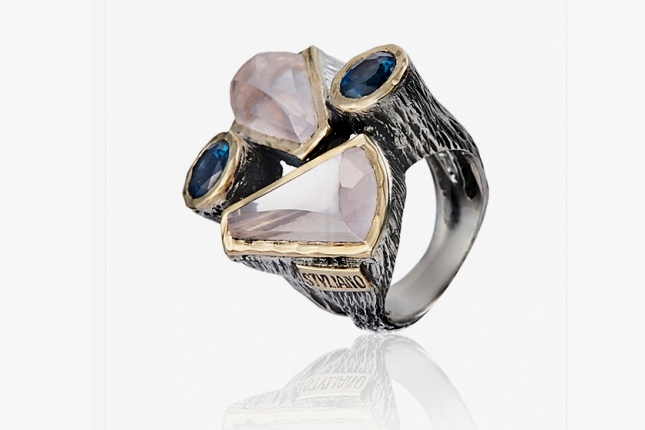 Styliano Jewellery - Gold and Silver ring. A amazing jewel for a perfect woman! 💎 #follow @choosethemoon  #choosethemoon #stylianojewellery #ring #jewelry  #goldrings #jewelrydesign #exclusivejewels #unicjewel  #luxuryjewellery #Portugal