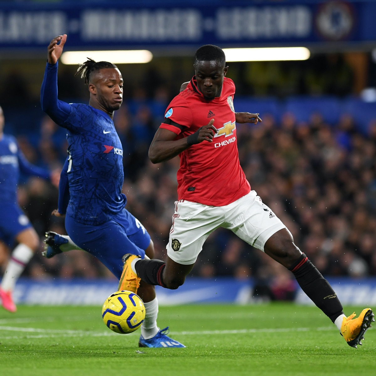 Just 50 seconds of @EricBailly24 defending against Chelsea. That's it. That's the tweet. #MUFC