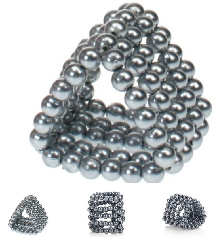"""#Ultimate #Stroker #Beads are the perfect tool to get the job done. They do what it says on the tin, """"give you the ultimate sexual stroke"""". This #erection #ring can stretch to 4cm and is made from #ABS #Plastic & #Metallic #Plating."""