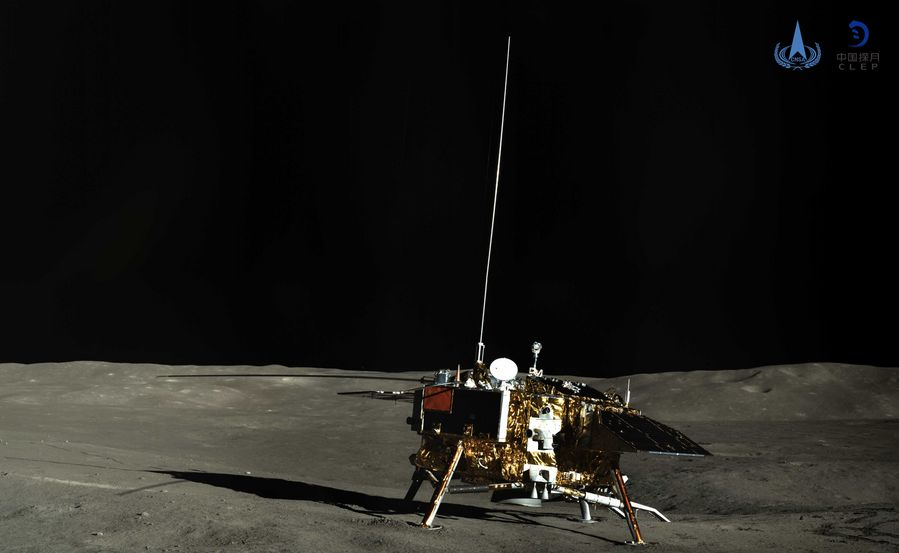 Back to Business: Chang'e-4 probe on the far side of the moon resumes operation http://xhne.ws/S70l5