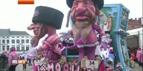 Image result for char antisémite au carnaval d alost