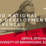 Image for the Tweet beginning: Our National Youth Development Conference