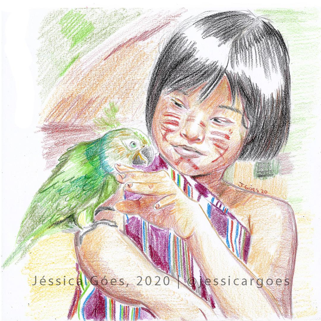 #illustration #colouredpencil #ilustração #lápisdecor pic.twitter.com/rcSJxJKMgg
