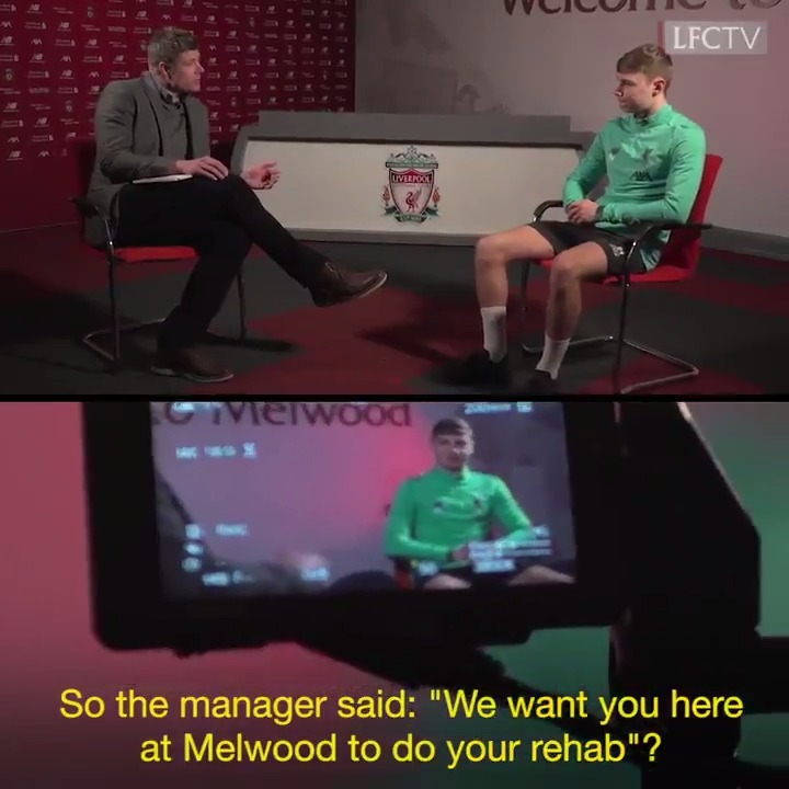 Not many people get a phone call off Klopp when injured, but Paul Glatzel got just that and an invite to complete his rehabilitation at Melwood 🔴  The Academy Show, now available on GO: http://video.liverpoolfc.com