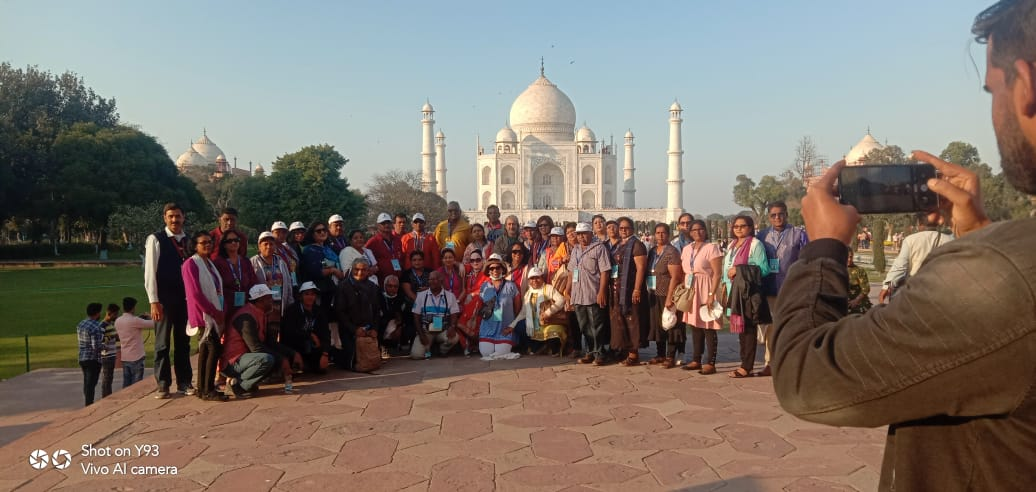 The 04th edition of Pravasi Teerth Darshan Yojana is being organized from 14 February to 01 March, 2020. Some of beautiful pictures of the visiting sites of the participants. @consulat_l