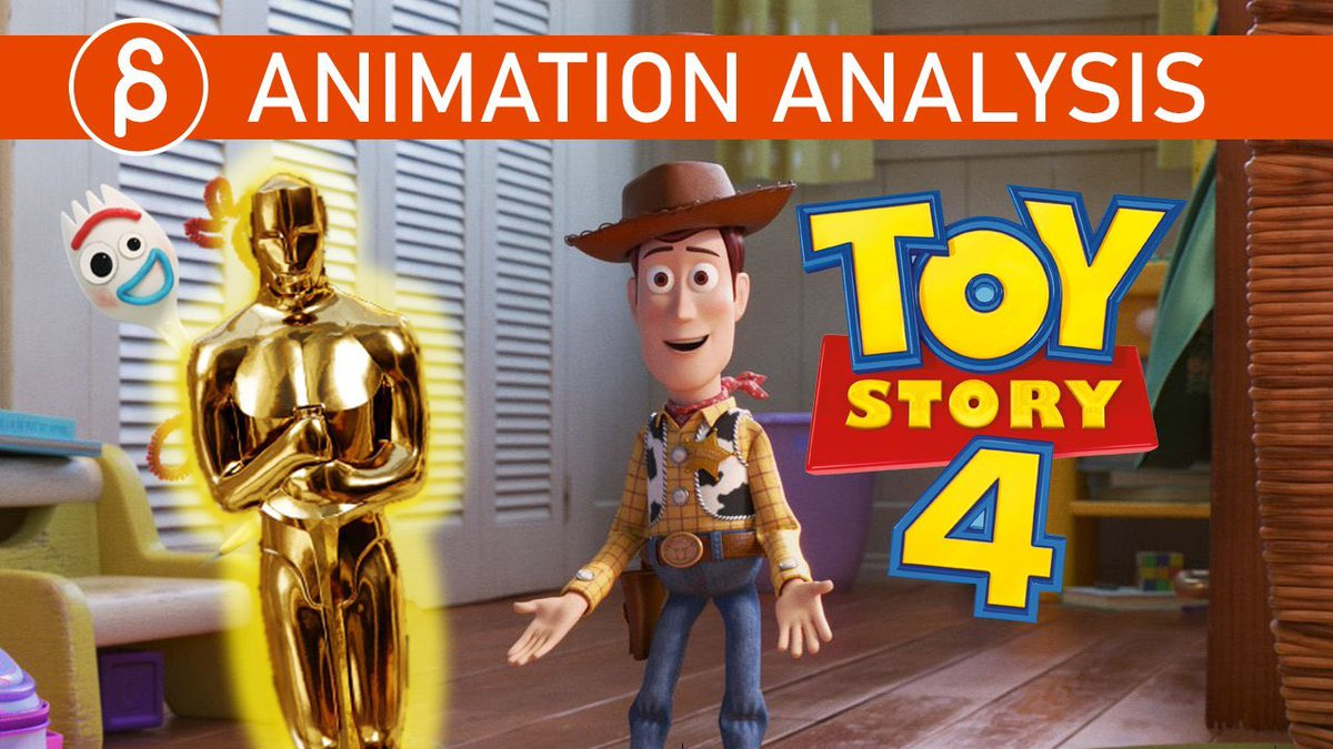 """[ICYMI] There is so much awesome work on display in """"Toy Story 4"""" that I had to take a look at a few sequences and nerd out at the animation, composition, shot ideas, and more!  http://youtu.be/IFLOJzFo1a8  #animation #disney #pixar #ToyStory4 #analysis #Oscar2020 pic.twitter.com/3gGjnnmn92"""