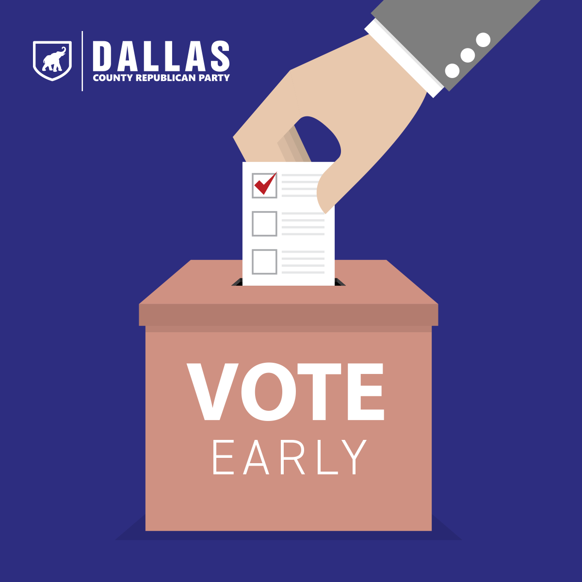 Today is the first day to early vote for the Primary Elections! Find your early voting locations here: dall1229.maps.arcgis.com/apps/webappvie…