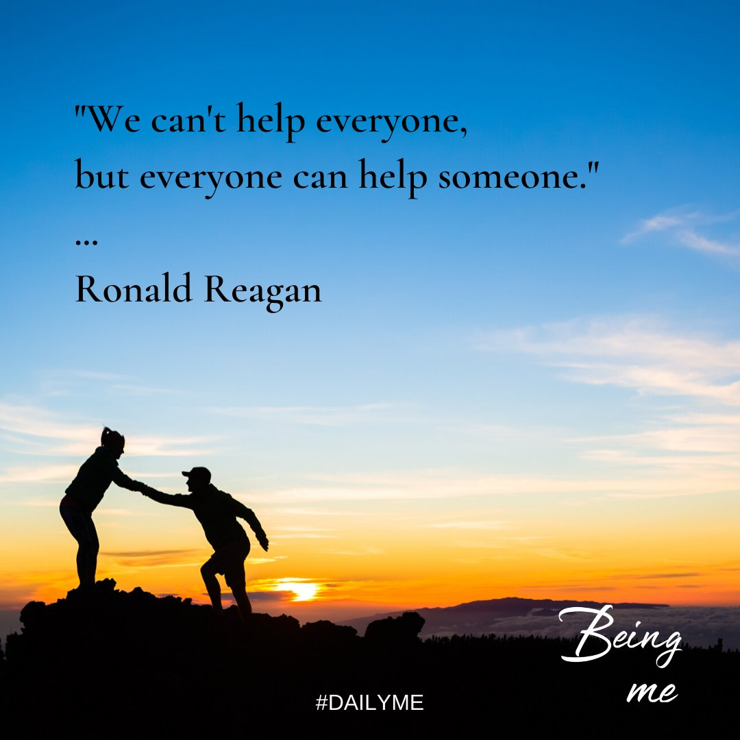 Look for opportunities to help someone today!  #DailyMe #TuesdayThoughts #tuesdayvibespic.twitter.com/GGfX6gGJpl