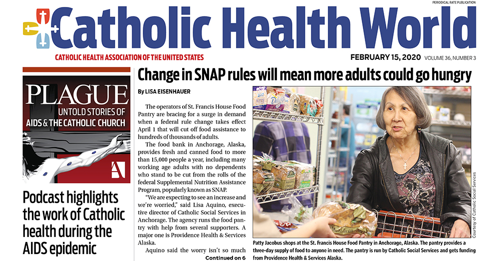 The new issue of #CatholicHealth World is now online - read the latest news from across the ministry today at http://www.chausa.org/CHW