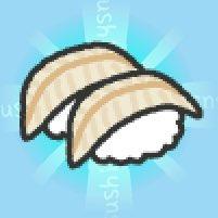 新SUSHIゲット「74.きす」 すしあつめ アプリ→ #SUSHI 岸の魚→キシコ→キスゴ(キスコ)→キスって流れで呼ばれるようになった(?)