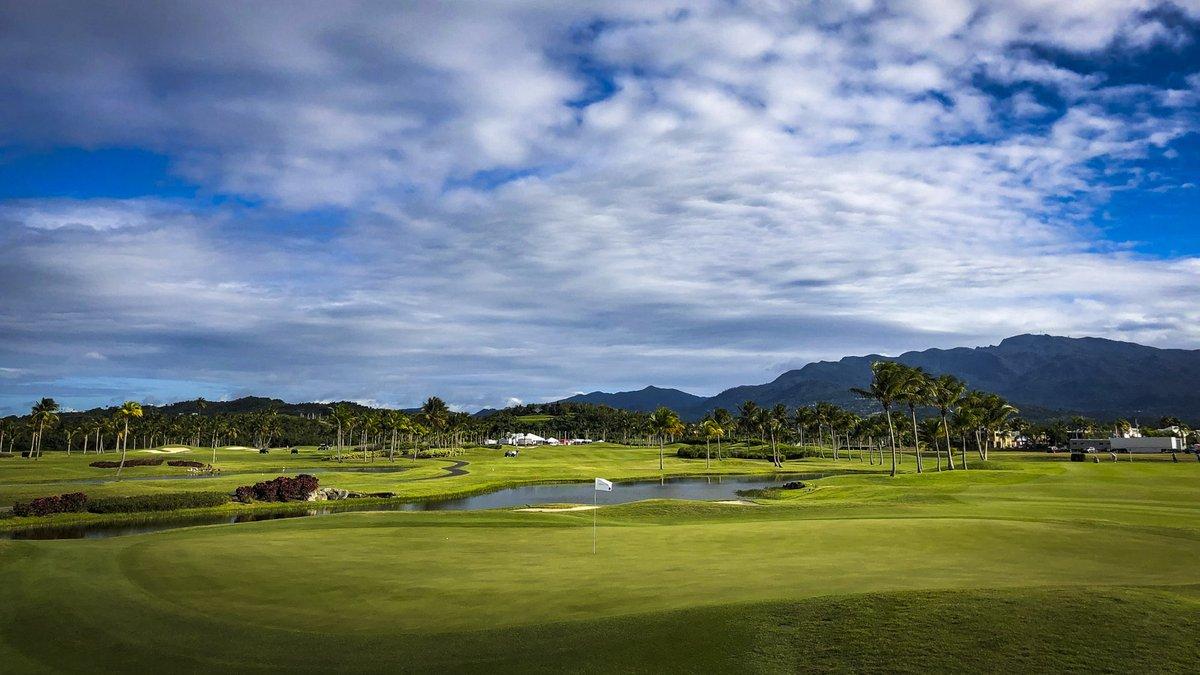 Golf in Puerto Rico. 😍