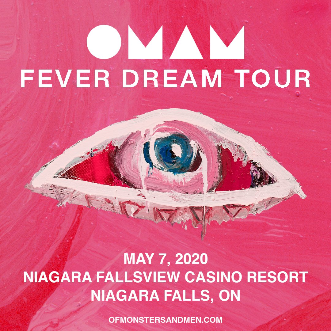 Canada!! Weve added a show in May at Niagara @FallsviewCasino Resort. Tickets are on sale Friday at noon. See you in the spring 🇨🇦 bit.ly/2P4fTFT