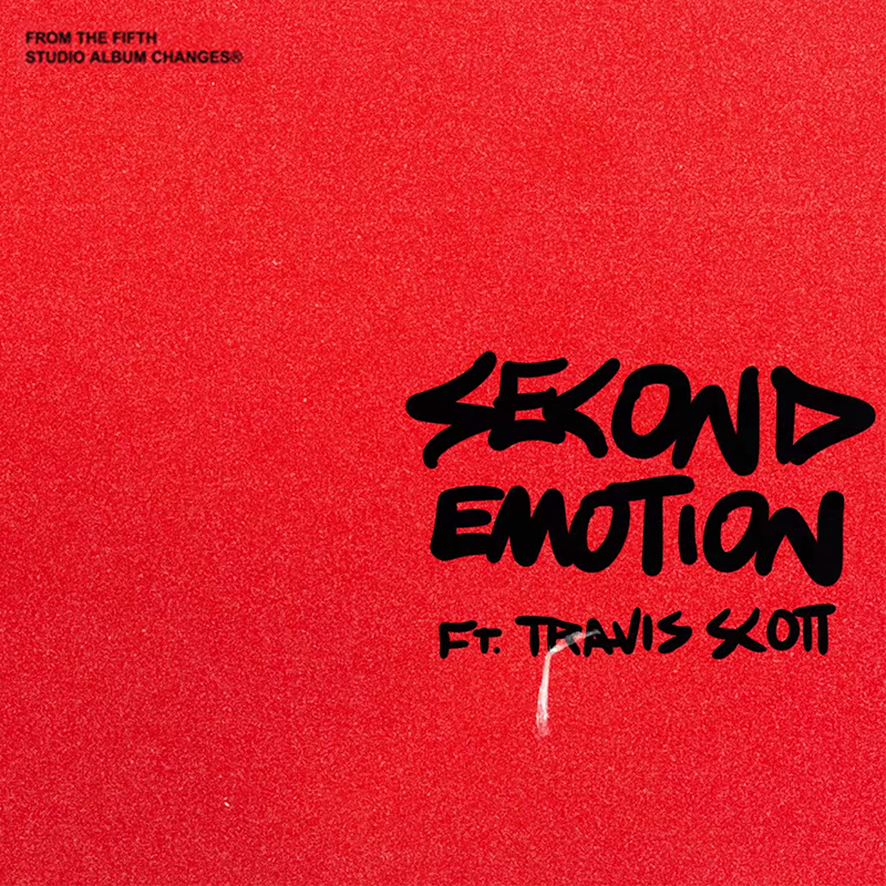 We can't get enough of @justinbieber's 'Second Emotion' feat. @trvisXX. Worked on last summer in studio B.⚡️  Listen now: http://justinbieber.lnk.to/Changes