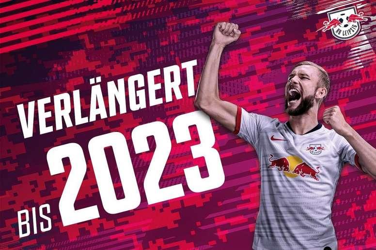 Laimer prolonge avec Leipzig