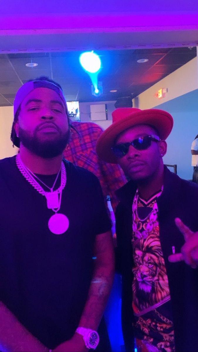 The homie @BriscoOpaLocka and I,  #WHOYOUWIT #musicrap #realrapper #rapperstyle #rapartists #rappersinger #moneymusic #rockstarmusic #starmusic #raplyricspic.twitter.com/aJyPzAHTRl