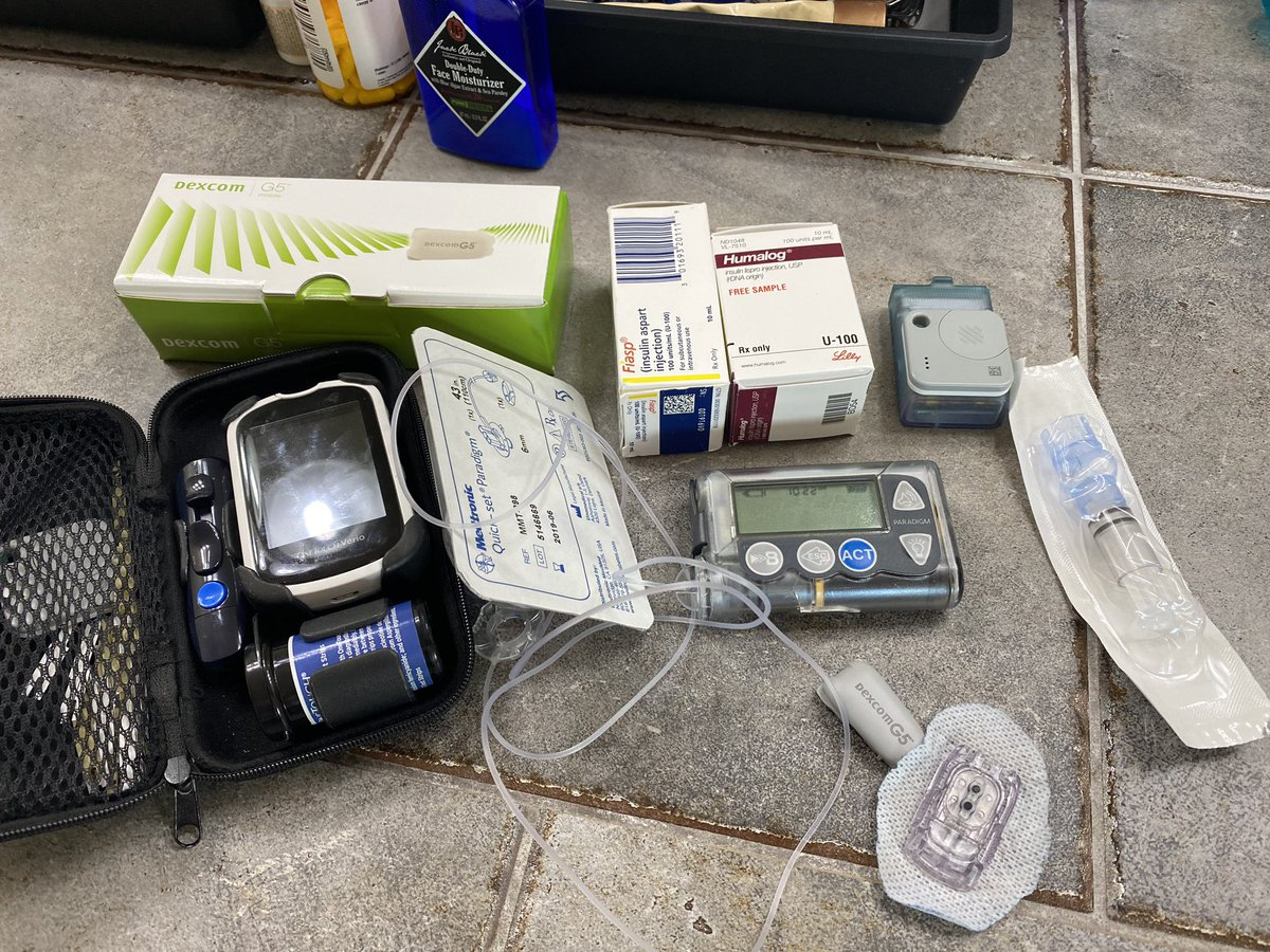 test Twitter Media - A perfect storm of #diabetes today as the pump ran out, sensors expired, and transmitter expired. So, I redo the whole set today. Bonus though, I have a Sample bottle of insulin. I have no complaints, but let's support those who suffer. #Insulin4all https://t.co/nBjKErZh3p