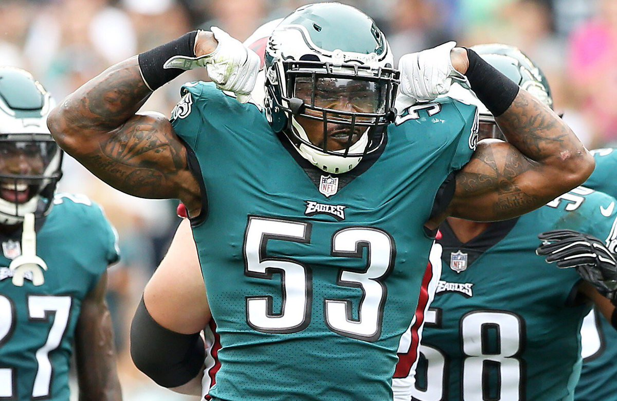 Eagles are releasing linebacker Nigel Bradham, according to @AdamSchefter #Eagles