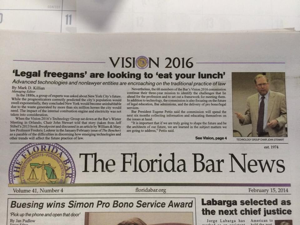 Hard to believe I was speaking on this 6 years ago. At the direction of The Florida Supreme Court we are tackling  issues again-always recognizing that Florida is unique, being informative & transparent in our study & always seeking the valued input of our members! @TheFlaBar