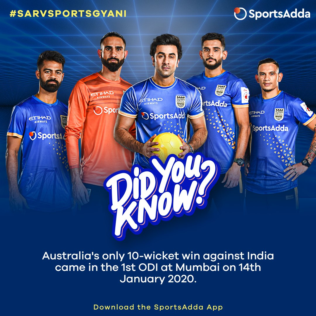 This Pongal, @davidwarner31 and @AaronFinch5 feasted on the Indian bowling unit! Download the app to get the latest sporting snippets. Upgrade your SQ (Sports Quotient) to #SarvSportsGyani!😎#INDvAUS #AUSvIND