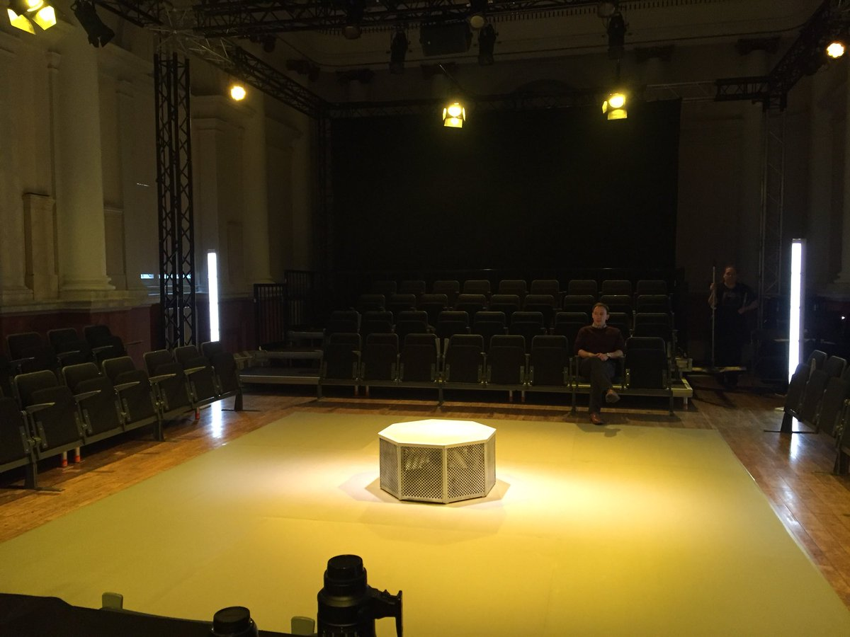 Tim: Dress about to start for The Claim. EEK. Come see it/me from tonight til 7th March @ShoreditchTH
